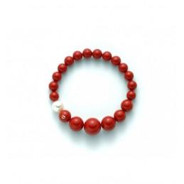 Bracciale Corallo Rosso...
